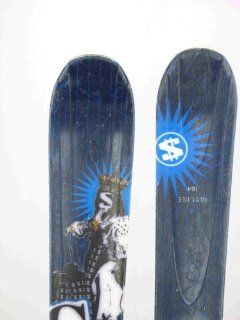 Salomon Used Gun Twin Freestyle Skis with Binding 164cm C CSR: Sports & Outdoors