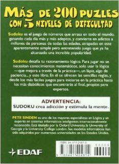 Te Atreves Con El Reto De Sudoku (Spanish Edition): P. Sinden: 9788441424814: Books