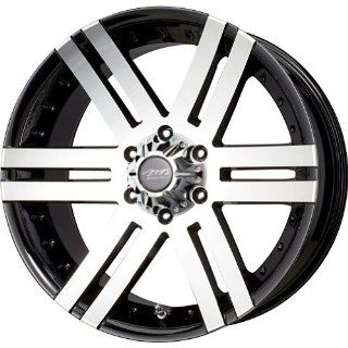 "MB Wheels Vortex Black Machined Face Wheel with Machined Finish (16x8""/8x165.1mm) Automotive"