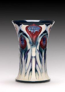 Moorcroft Handmade Ceramic Fire & Ice Vase Limited Edition 75 158/6 Emma Bossons   Decorative Vases