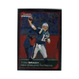 2006 2006 Bowman Chrome #166 Tom Brady: Sports Collectibles