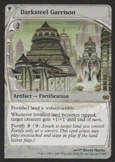 Darksteel Garrison (Magic the Gathering : Future Sight #167 Rare): Toys & Games