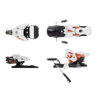 Salomon STH 12 Driver Ski Binding White/Black/Orange, 90mm: Sports & Outdoors