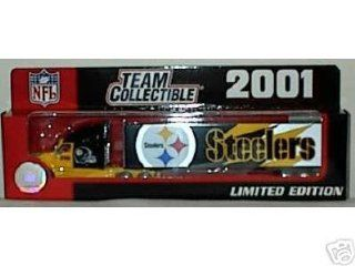 2001 Pittsburgh Steelers 1:80 Scale Diecast Tractor Trailer Semi NFL : Sports Fan Toy Vehicles : Sports & Outdoors