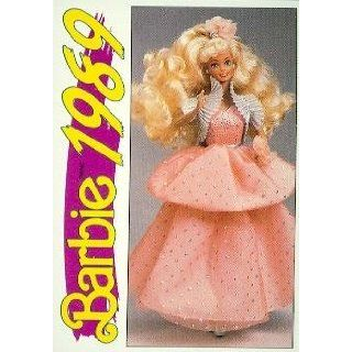 Peach Pretty Barbie, K Mart Exclusive trading card (1989) 1991 Panini Another First for Barbie #163: Collectibles & Fine Art