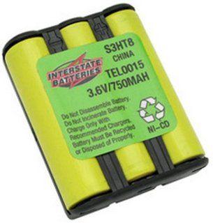 INTERSTATE TEL0015 CORDLESS PHONE REPLACEMENT BATTERY AT&T22250X / AT&T22251X / AT&T3470 / AT&T9105 / AT&T9110 / AT&T9111 / AudiovoxBT 911 / Battery BizB726 / DantonaBATT1711 / DantonaBATT9111 / EmpireCPB 455 / GeneralElectric/GeGE
