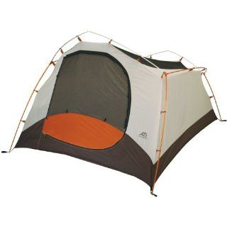 ALPS Mountaineering Aztec 4 Person Tent (Aluminum Poles and Full Coverage Fly, 7 Feet 10 Inch x 8 Feet 6 Inch): Sports & Outdoors