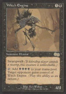 Witch Engine (Magic the Gathering : Urza's Saga #169 Rare): Toys & Games