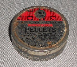 West German Made Winchester .177 Caliber Air Rifle Pellet Tin: Everything Else