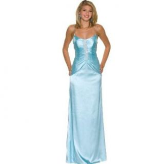 Formal Evening Gown. Star Style Dress for Prom, Party, Wedding by Sean Collection (50018), M, Aqua: Clothing