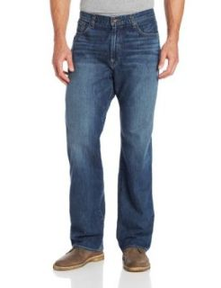 Lucky Brand Men's 181 Relaxed Straight Leg Jean In Medium Clarksville: Clothing