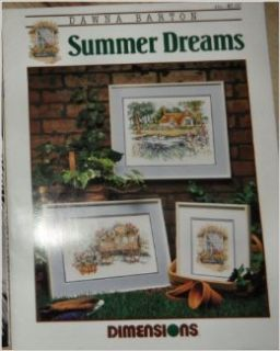 Dawna Barton Summer Dreams Dimensions Cross Stitch Chart 181: DAWNA BARTON: Books