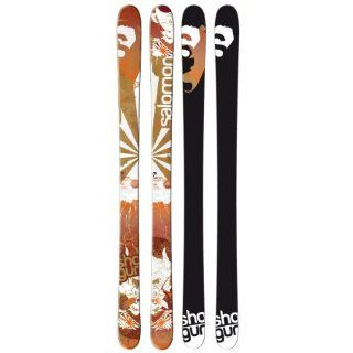 Salomon Shogun Skis Red/White/Brown Sz 182cm: Sports & Outdoors
