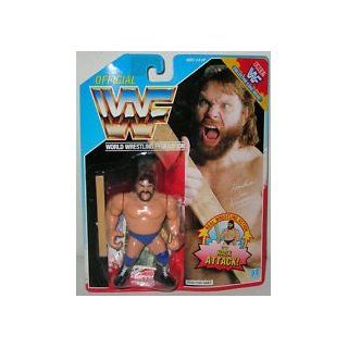 "Official WWF 1990 Hasbro ""Hacksaw"" Jim Duggan Wrestling Figure with Hack Attack Action!: Everything Else"