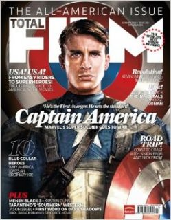 Total Film Magazine   Summer 2011   The All American Issue, Captain America, Kevin Smith, Jason Segel, Anjelica Huston, Die Hard (Issue 182): Aubrey Day: Books