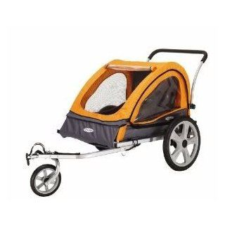 Toy / Game Instep Quick N EZ Double Bicycle Trailer, 16 Inch Pneumatic Tires W/ Molded Rims Provide Performance: Toys & Games