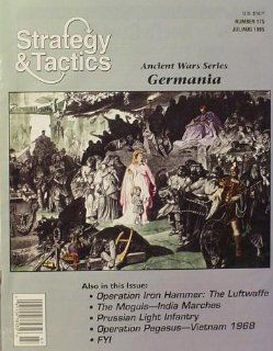 DG: Strategy & Tactics Magazine #175, with Germania, Rome Beyond the Rhine, Board Game: Toys & Games