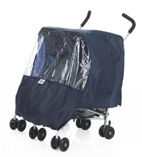 Protect a Bub Universal Rain Cover   Twin   Navy Baby