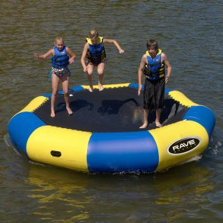 RAVE Sports 13 ft. Bongo Water Bouncer   Water Trampolines