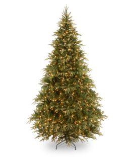 7.5 ft. Feel Real Weeping Spruce Medium Hinged Pre Lit Christmas Tree   Christmas Trees