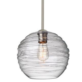 Besa Wave 10 EDI Pendant Light with Clear Glass   Pendant Lighting