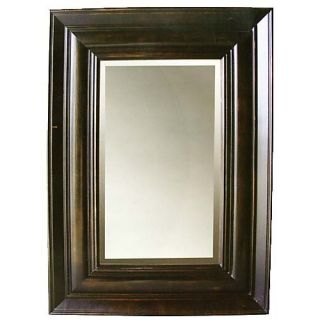 Isabelle Ebony Rectangle Mirror   32.5W x 38.5H in.   Wall Mirrors