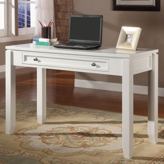 Parker House Boca 47 in. Writing Desk   Cottage White   Writing Desks