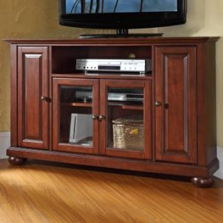 Crosley Alexandria 48 in. Corner TV Stand   Vintage Mahogany   TV Stands