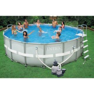 Intex 18 x 52 Ultra Frame Pool   Swimming Pools & Supplies