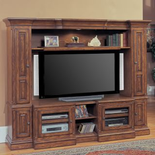 Parker House Denver Expandable Space Saver Entertainment Center   Entertainment Centers