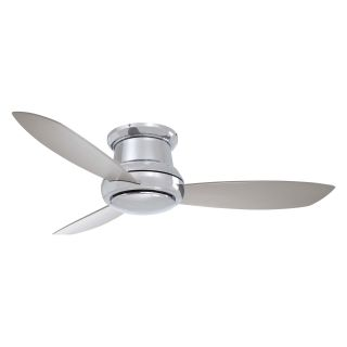 Minka Aire F519 PN Concept II 52 in. Indoor Ceiling Fan   Polished Nickel   Ceiling Fans