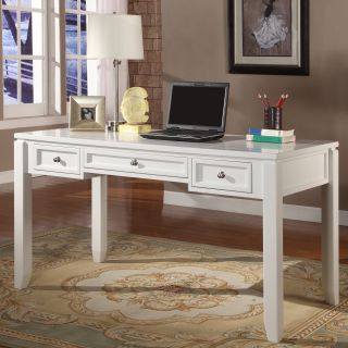 Parker House Boca 57 in. Writing Desk   Cottage White   Writing Desks