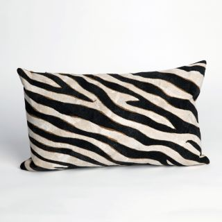Liora Manne Zebra Indoor / Outdoor Throw Pillow   Decorative Pillows