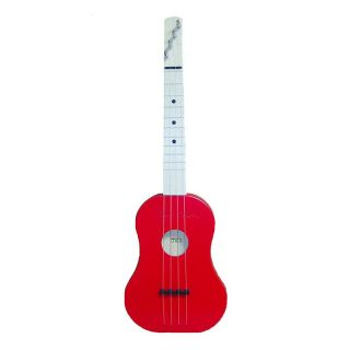 Zither Heaven Red Soprano Ukulele   Kids Musical Instruments