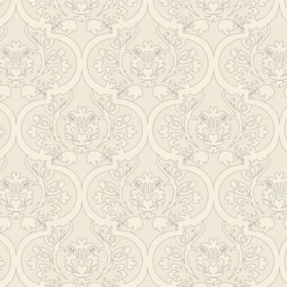 Floral Damask Wallpaper   Cotton Ball   DO NOT USE