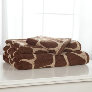 Divatex Animal World Giraffe 100% Cotton 3 Piece Bath Towel Set   Bath Towels