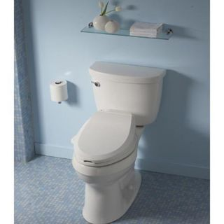 Kohler C3 100 Elongated Bidet Toilet Seat with Tank Heater   Bidet Toilet Seats
