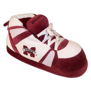 Comfy Feet NCAA Sneaker Boot Slippers   Mississippi State Bulldogs   Mens Slippers