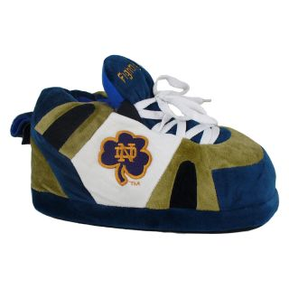 Comfy Feet NCAA Sneaker Boot Slippers   Notre Dame Fighting Irish   Mens Slippers
