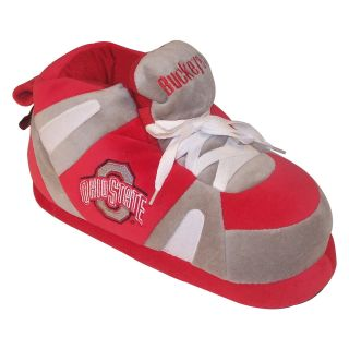 Comfy Feet NCAA Sneaker Boot Slippers   Ohio State Buckeyes   Mens Slippers