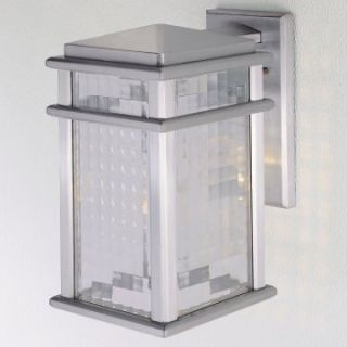 Murray Feiss Monterey Coast Outdoor Wall Lantern   12.5H in. Brushed Aluminum   Outdoor Wall Lights