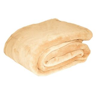 Eddie Bauer Fleece Blanket Khaki   DO NOT USE
