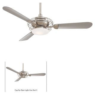 Minka Aire F601 BS/BN Acero 52 in. Indoor Ceiling Fan   Brushed Steel with Brushed Nickel   Ceiling Fans