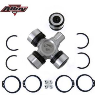 1998 2000 Jeep Cherokee U Joint   Alloy USA, Direct fit, Greasable X Joint Replaces All 5 297X Or 5 760X U Joints On Dana 30 & Dana 44 Front Axles; It Comes With Both Half And Full Circle Clips