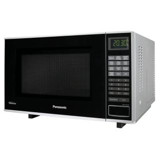 Panasonic NN SF550M 1.0 cu. ft. Flat and Wide Microwave   Microwave Ovens