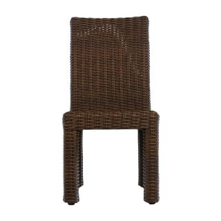Lloyd Flanders Mesa All Weather Wicker Dining Side Chair   Patio Chairs