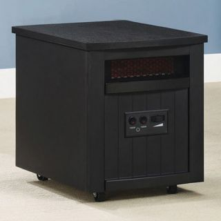 Twin Star Quartz Infrared Heater   Black   Portable Infrared Heaters