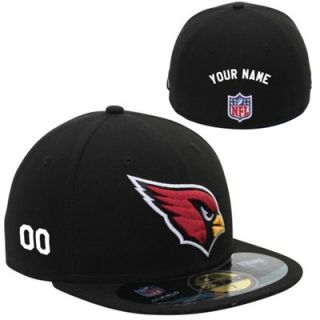 New Era Arizona Cardinals Mens Customized On Field 59FIFTY Football Structured Fitted Hat