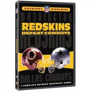 Warner Brothers Washington Redskins NFL Greatest Rivalries Redskins vs. Cowboys