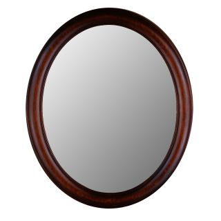 Hitchcock Butterfield Premier Series Oval Wall Mirror   771   Mahogany   Wall Mirrors
